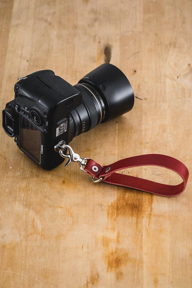 dragonne cuir photographe