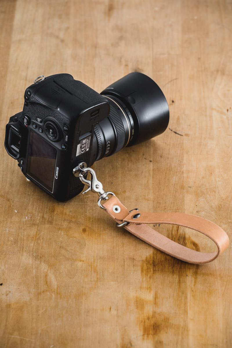 sangle cuir photographe