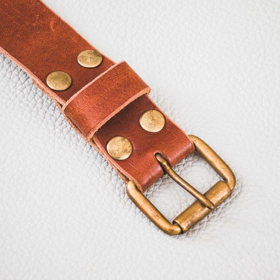 DELeather ceinture boucle 12