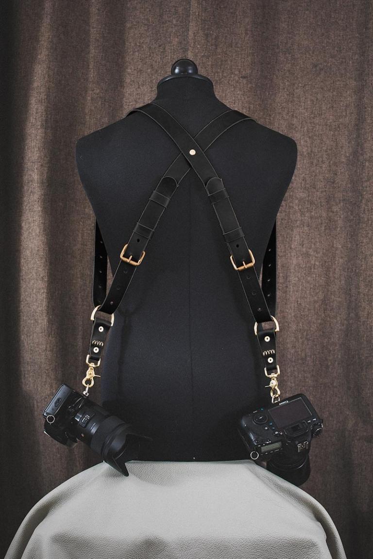 deleather harnais OR noir