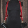 deleather harnais OR rouge