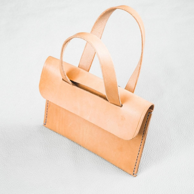 DELeather sac papillon